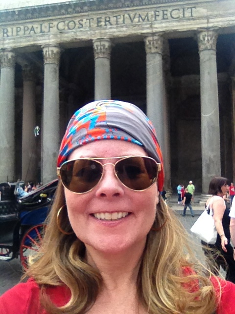 The Better Half whisked me off to Italy. Here I am in Roma.