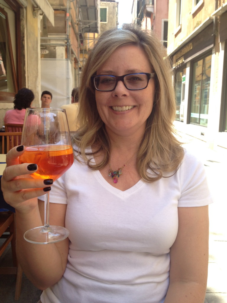 This is THE drink in Venice, a Spritz. Hey, when in Ro.. I mean Venice!