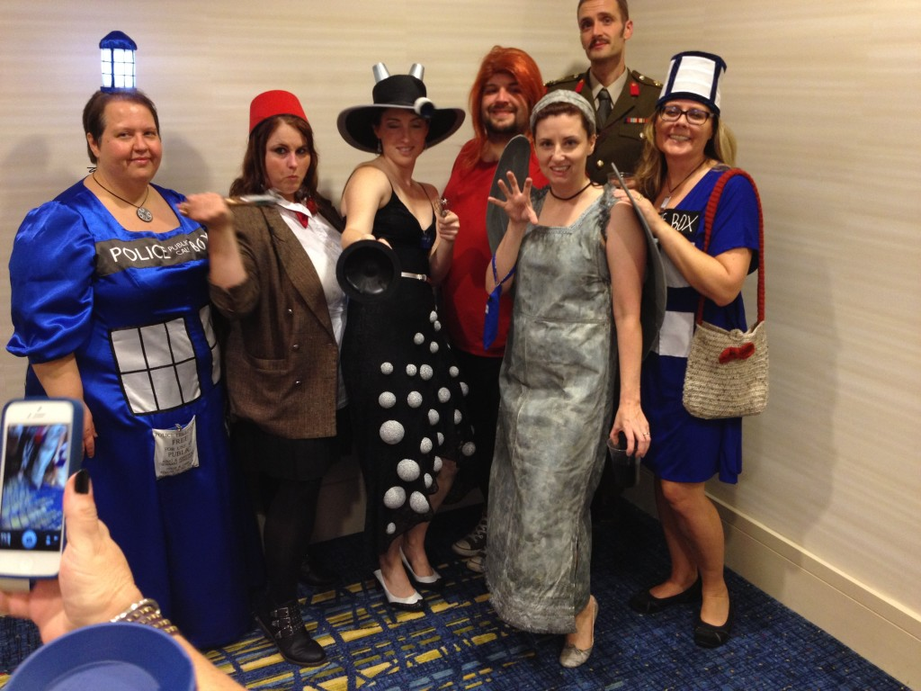 The Dr. Who Ball attendees.