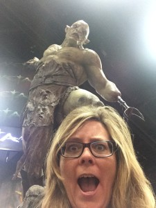 Running into Azog is no laughing matter!